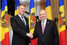 Romanian President elect Klaus Iohannis had a meeting with Moldova's President Nicolae Timofti'