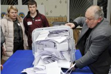 Vote counting of the parliamentary election'
