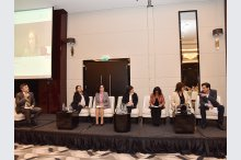 The Ministry of Health, Labor and Social Protection held an international conference at Hotel Radisson Blue'
